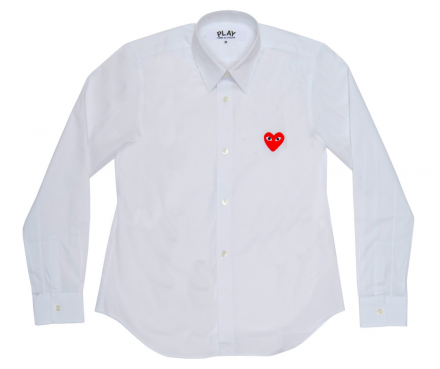 Red Play Ladies' Blouse (White)