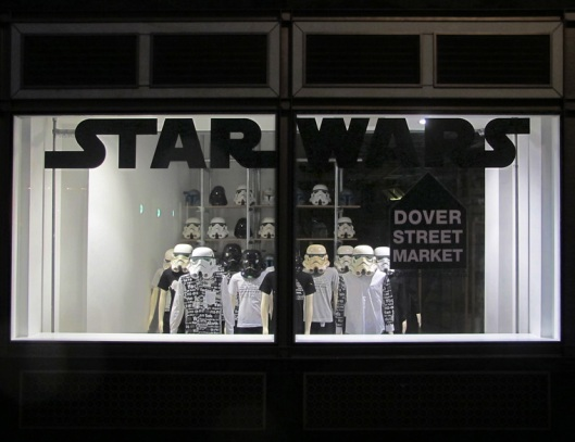 Dover Street Market Star Wars Window