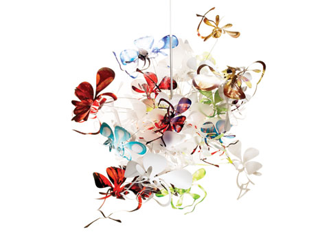 Marc Pascal Orchid Lamp (Pendant)