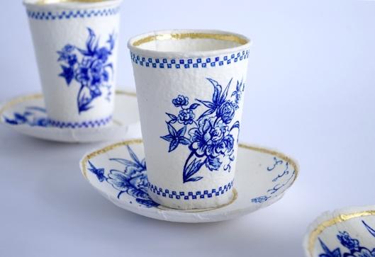 Rebecca Wilson's Delft Paperware