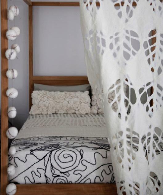 Ronel Jordaan Felt Bedroom