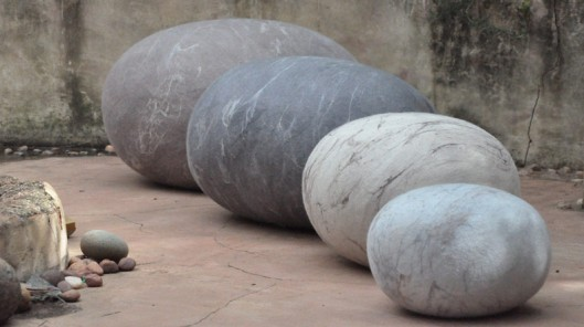 Ronel Jordaan's Wool Rock Pillows (2)