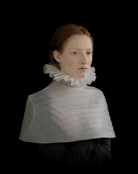 'Girl in Cloak' by Suzanne Jongmans