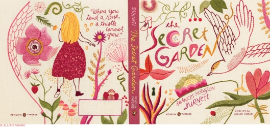 Penguin Threads Secret Garden Book Jacket Designed by Jillian Tamaki