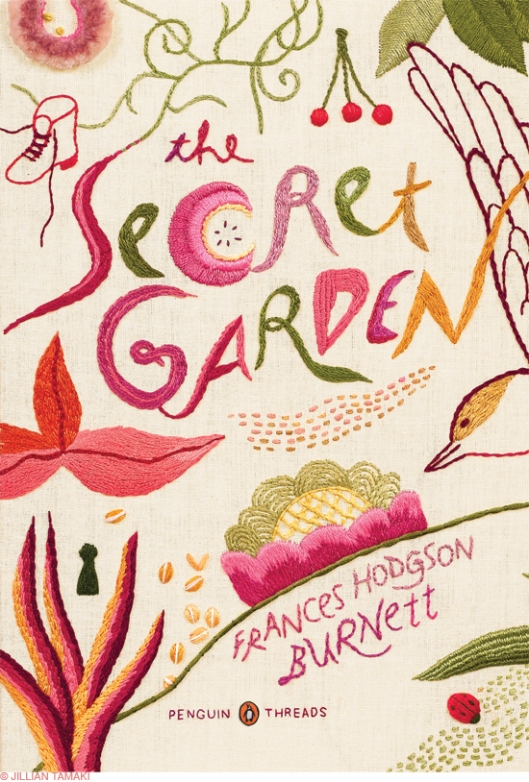 Penguin Threads Secret Garden Book Front Designed by Jillian Tamaki