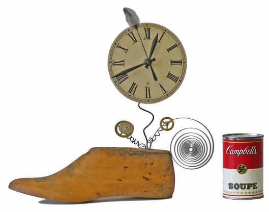 Shoe Mold Clock by Kclockwerks