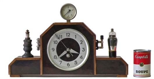 Steampunk Mantle Clock by Klockwerks
