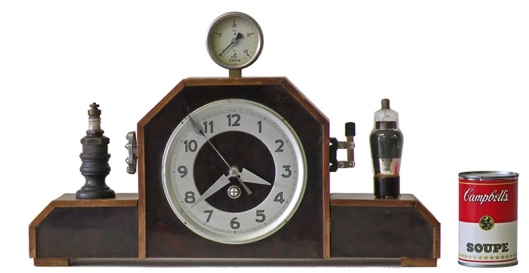Steampunk Mantle Clock by Klockwerks