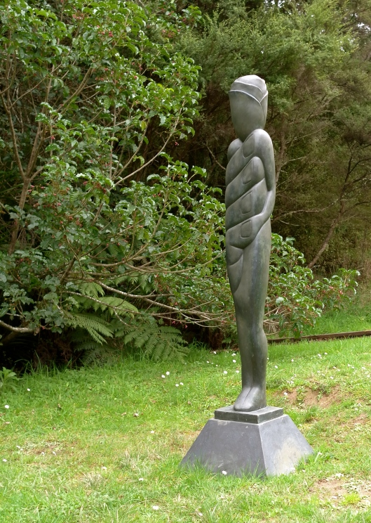 'Figure in a Landscape' by Terry Stringer (Brick Bay Sculpture Trail)