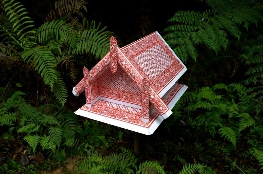 'Whare' by Neil Dawson (Brick Bay Sculpture Trail)