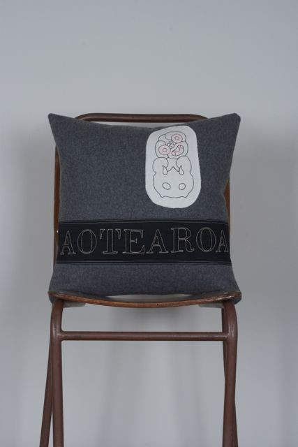 Native Agent Aotearoa Tiki Trade Cushion