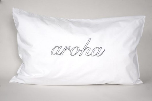 Pair of Native Agent 'Aroha' Pillowslips