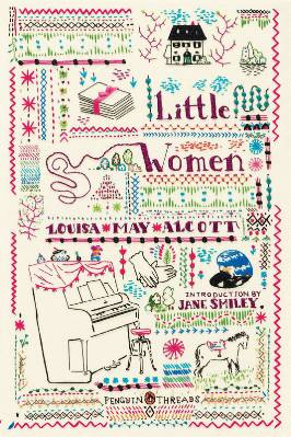 Penguin Threads Little Women Book Cover Designed by Rachell Sumpter