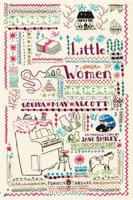 Penguin Threads Little Women Book Cover Designed by Rachell Sumpter