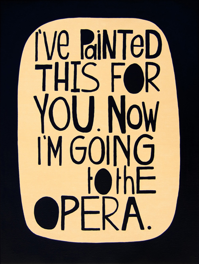 'Going to the Opera' by Rachel Castle