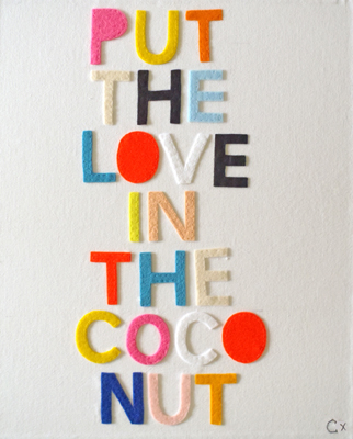 'Put the Love in The Coconut' by Rachel Castle