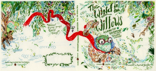 Penguin Threads The Wind in The Willows Book Jacket Designed by Rachell Sumpter