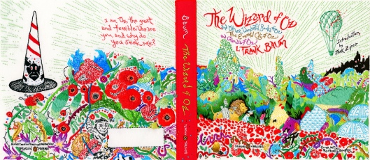 Penguin Threads The Wizard of Oz Book Jacket Designed by Rachell Sumpter