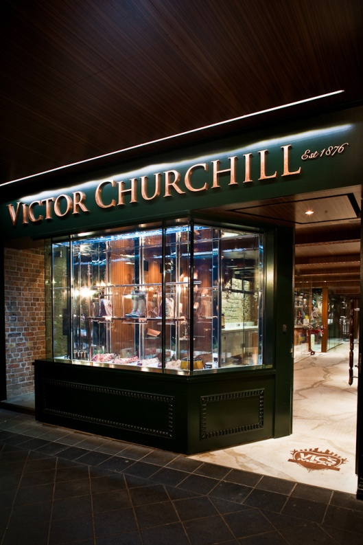 Victor Churchill Shop Front