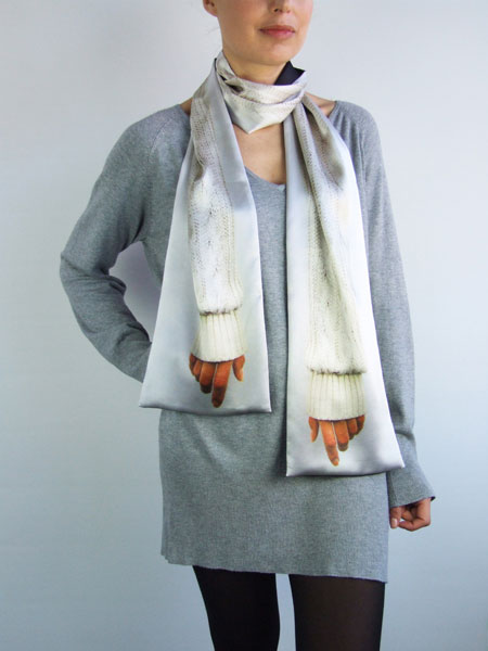 Arm Scarf Jumper by A'N'D