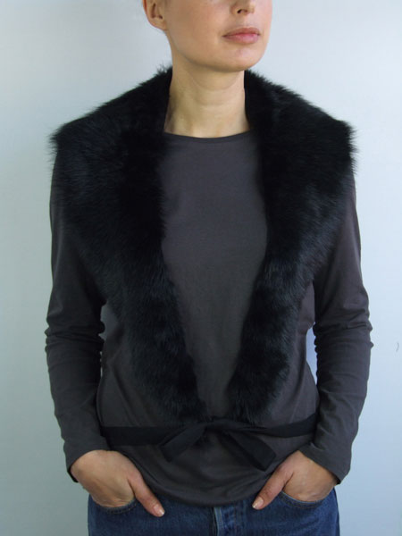 Bodyshawl Wrap Sheepskin by A'N'D
