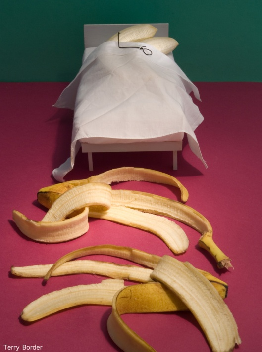 'Bananas in Bed' - a Bent Object by Terry Border