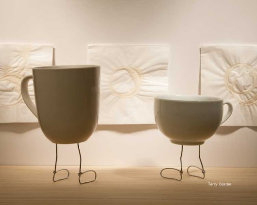 'Coffee Rings' - a Bent Object by Terry Border