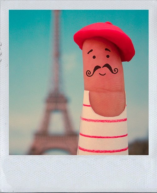 French Finger Puppet