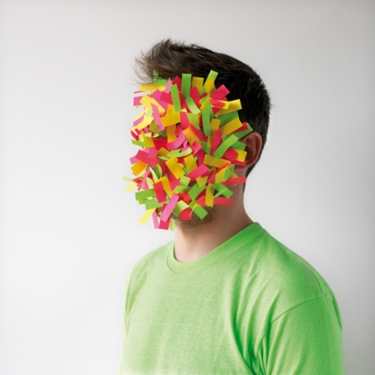 From the Paper Faces Series by Héctor Sos