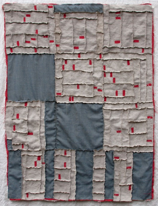 Albuquerque Foreclosure Quilt by Kathryn Clarke