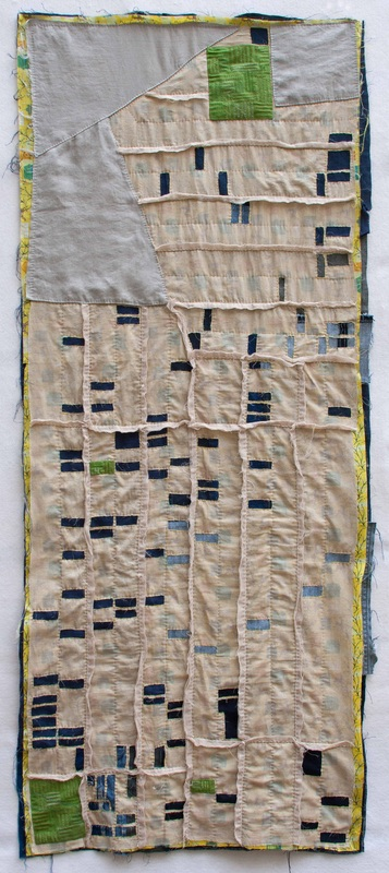 Cleveland Foreclosure Quilt by Kathryn Clark