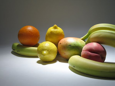'Reclining Produce' by Terry Border of Really Bent