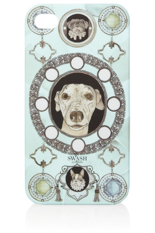Dog Printed iPhone 4 Case by Swash