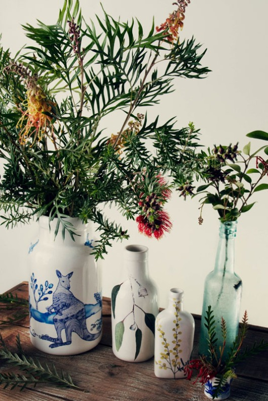 Botanic Vases by Angus & Celeste