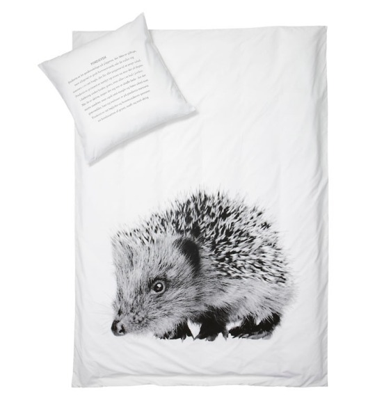 Hedgehog Duvet Cover for By Nord