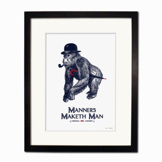 Manners Maketh the Man by Chase and Wonder