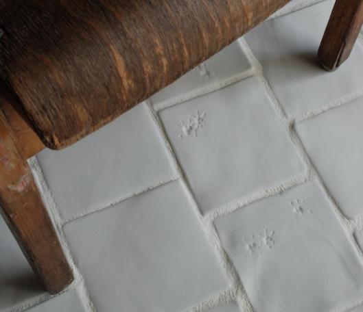 Paw Print Tiles by Helena Seget