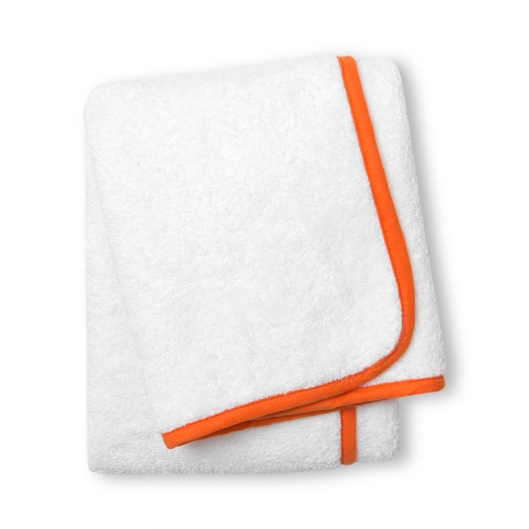 Orange Piped Towel from a range by Jonathan Adler
