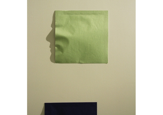 Green Origami from Origami Series by Kumi Yamashita