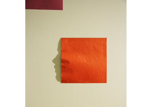 Orange Origami from Origami Series by Kumi Yamashita
