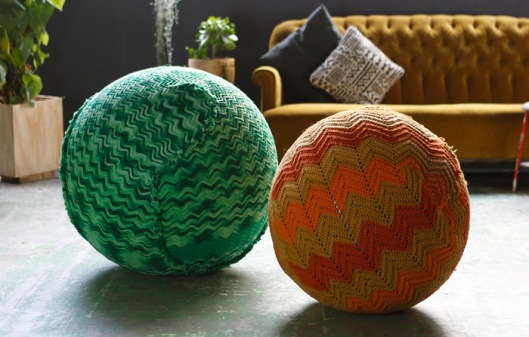 Knitted Yoga Ball from Page Thirty Three