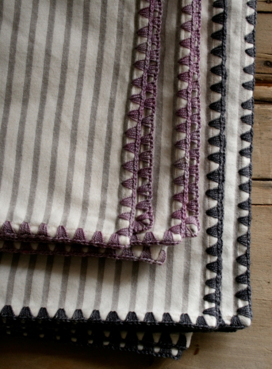 Purl Bee Flannel Receiving Blankets from Laura's Loop