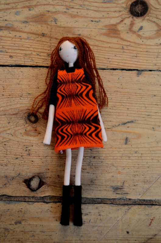 Barbara Brown Doll from the Selvedge Drygoods Store