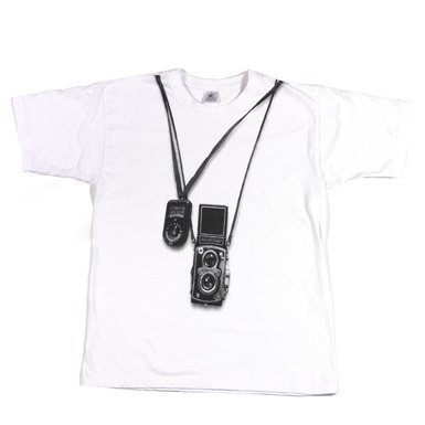Rolleiflex T-Shirt, available exclusively at the V and A