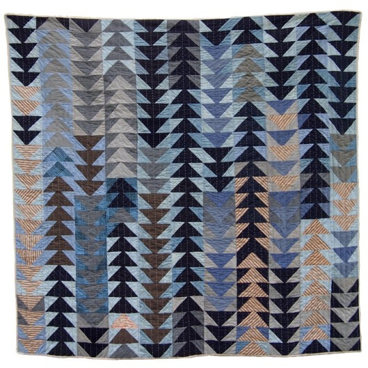 Flying Geese Quilt by Folk Fibers(Image from Folk Fibers)