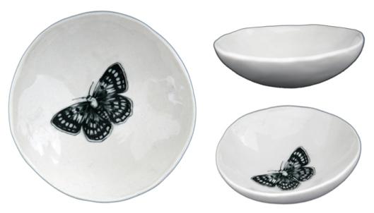 Jo Luping Butterfly Medium Bowl