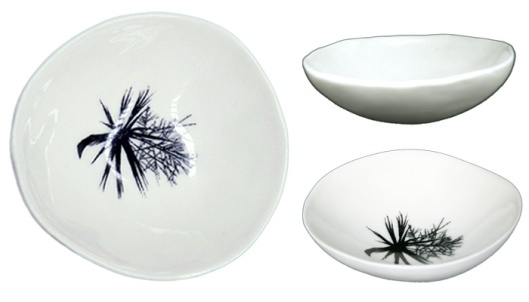 Jo Luping Cabbage Tree Medium Bowl