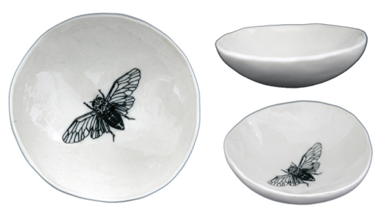 Jo Luping Cicada Medium Bowl