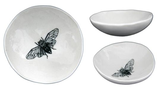 Jo Luping Cicada Medium Bowl