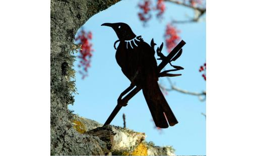 'Tui' Metal Bird by Phil Walters for Silo Design